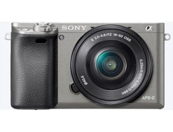$202 off Sony Alpha A6000 Mirrorless Digital Camera