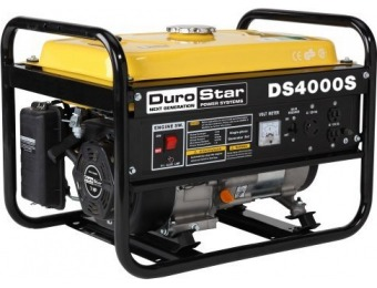 $103 off DuroStar DS4000S 4000W Gas Powered Portable Generator