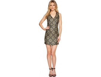 86% off Romeo & Juliet Couture Jacquard Mesh Back Detail Dress