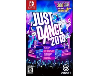 50% off Just Dance 2018 - Nintendo Switch