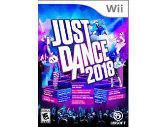 38% off Just Dance 2018 - Wii