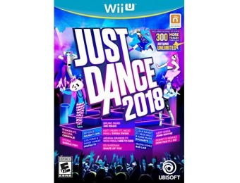 50% off Just Dance 2018 - Wii U