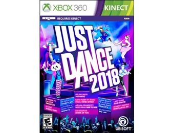 38% off Just Dance 2018 - Xbox 360