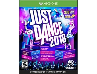50% off Just Dance 2018 - Xbox One