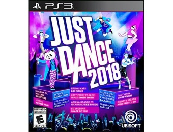 38% off Just Dance 2018 - PlayStation 3