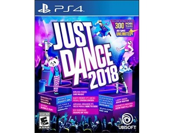 50% off Just Dance 2018 - PlayStation 4