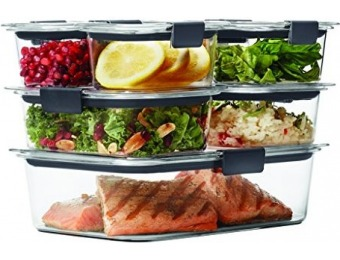 59% off Rubbermaid Brilliance 14-Pc Food Storage Containers