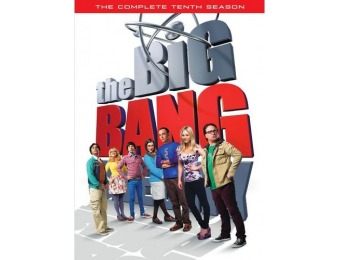 74% off The Big Bang Theory: The Complete Tenth Season (DVD)