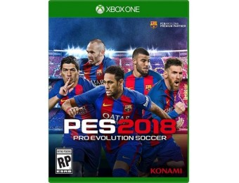 72% off PES 2018: Pro Evolution Soccer - Xbox One