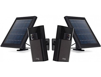 $137 off Ring Stick up Cam and Solar Panel Bundle (2 cams and 2 solar)