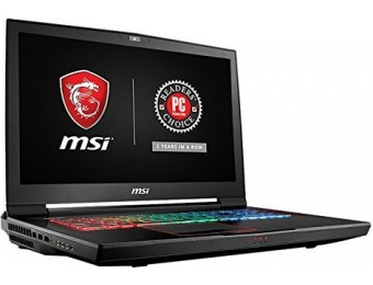 "$799 off MSI GT73VR TITAN PRO 17.3"" 120Hz Hardcore Gaming Laptop"