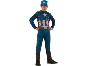 70% off Marvel Captain America Boys' Costume L (10-12)