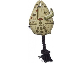 60% off Star Wars Millennium Falcon Rope Tug Dog Toy