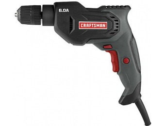 "55% off Craftsman 3/8"" 6A Drill"
