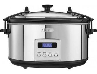 60% off Bella 5-Quart Slow Cooker