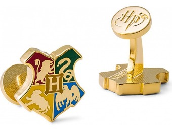 70% off Harry Potter Hogwarts Crest Cufflinks