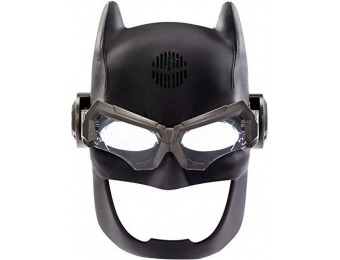 64% off DC Justice League Batman Voice Changing Tactical Helmet