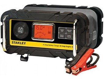 70% off Stanley Battery Charger, Engine Starter & Alternator Check