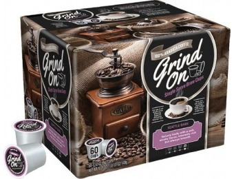 50% off Grind On Seattle Dark K-Cups (60-Pack)