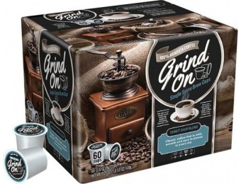 50% off Grind On Donut Shop K-Cups (60-Pack)