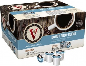 50% off Victor Allen Donut Shop K-Cups (80-Pack)