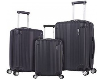 $261 off Rockland Hardside Spinner 3-Pc Luggage Set
