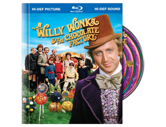$20 off Willy Wonka and the Chocolate Factory Blu-ray