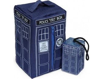 75% off Doctor Who TARDIS Soap-on-a-Rope and Washbag