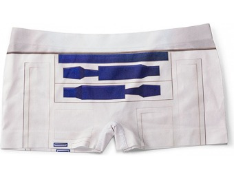 50% off Star Wars R2-D2 Seamless Boyshorts