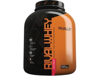 56% off Rival Whey Protein Supplement