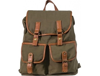 43% off Staples Canvas Rucksack Backpack