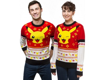 40% off Pokemon Pikachu Holiday Sweater