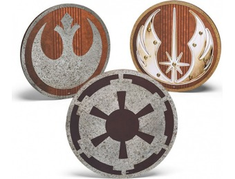 40% off Star Wars Metal and Wood Die Cut Insignias