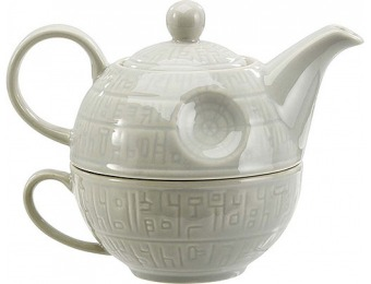 48% off Star Wars Death Star Teapot & Mug