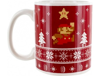 46% off Super Mario Bros. Holiday Mug