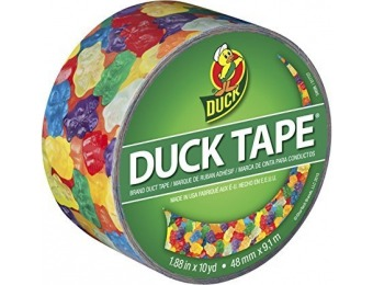 80% off Duck Brand 282495 Printed Duct Tape, Gummy Bears