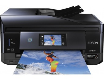 $125 off Epson Expression Premium XP-830 All-In-One Printer