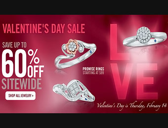 Valentine's Day Sale - Up to 60% off