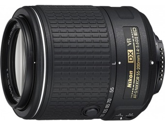 57% off Nikon AF-S DX NIKKOR 55-200mm VR II Telephoto Zoom Lens