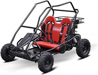 $575 off Coleman Powersports KT196 Gas Powered Off-Road Go Kart
