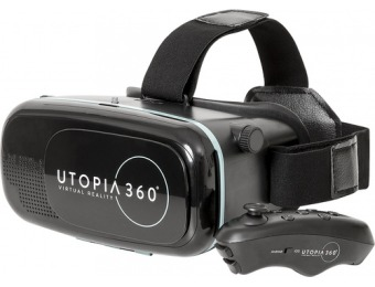 75% off ReTrak Utopia 360° Virtual Reality Headset w/ Controller