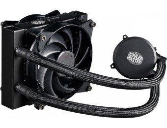 $30 off Cooler Master MasterLiquid 120 All-in-one CPU Liquid Cooler