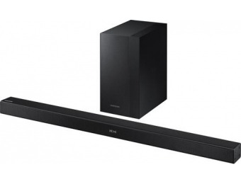 $160 off Samsung 2.1-Ch Soundbar System w/ Wireless Subwoofer