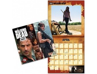 33% off 2018 The Walking Dead Wall Calendar