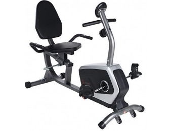 51% off Sunny Health & Fitness Magnetic Recumbent Bike