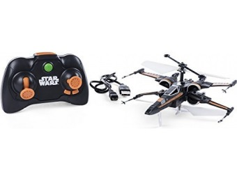30% off Air Hogs Poe's Boosted X-wing Fighter Toy Jet