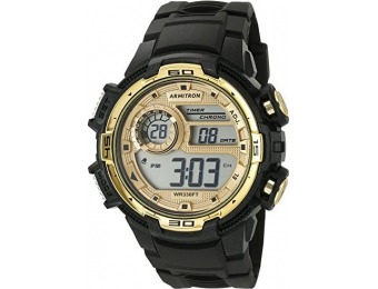 76% off Armitron Sport Men's Gold-Tone Accented Chronograph Watch
