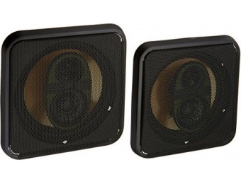 "73% off Pyramid 658GS 6.5"" 300 Watts 3-Way Speakers"