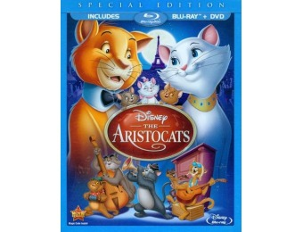 70% off The Aristocats Special Edition Blu-ray/DVD