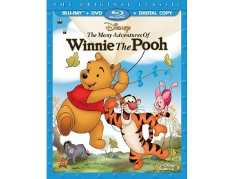 67% off The Many Adventures of Winnie the Pooh Blu-ray/DVD